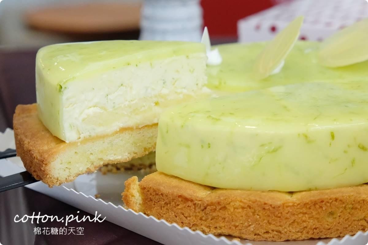 滿399元免費外送!烘焙老店「香檸蛋糕」激似放大版檸檬塔,法式酥餅搭酸甜內餡超開胃