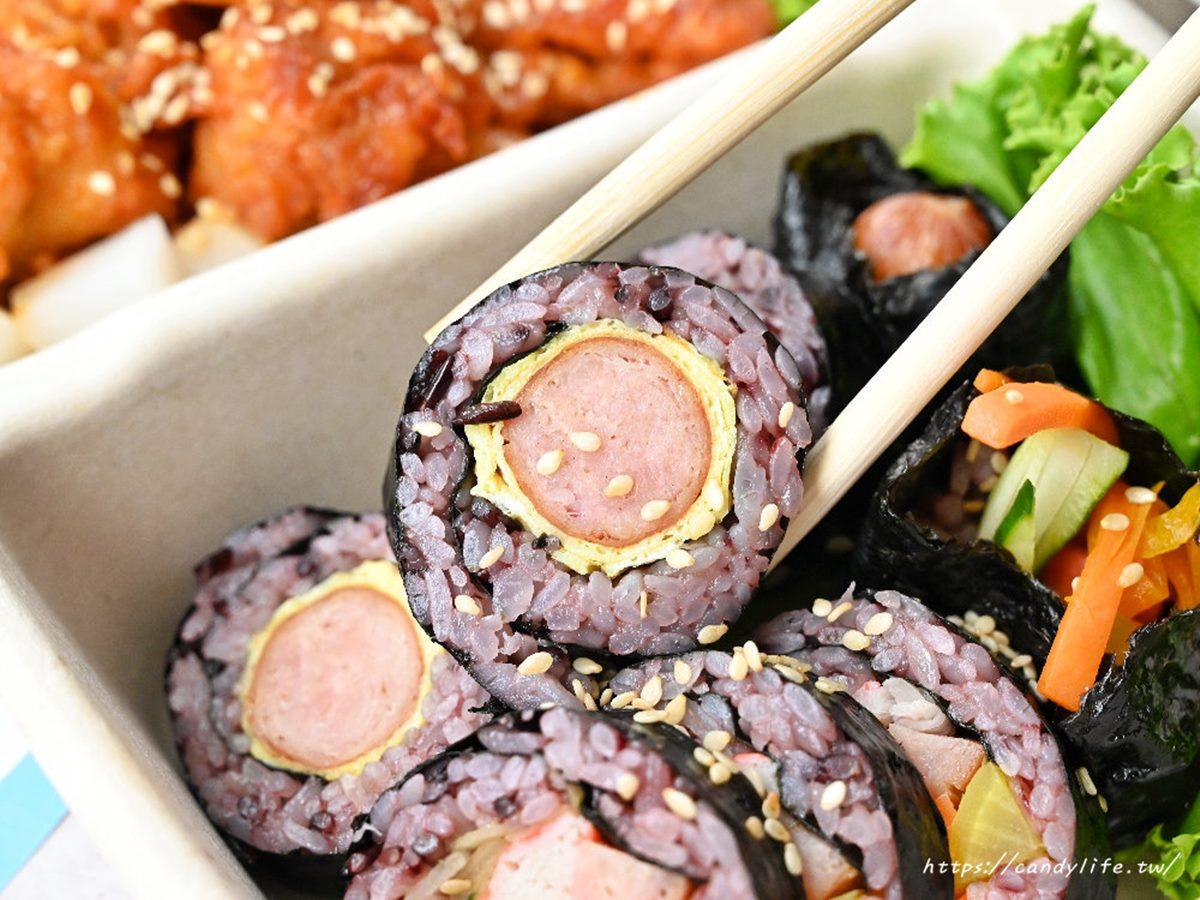 IG洗版了!超美拍「韓系3拼餐盒」想吃先預訂,2種口味紫米飯捲+唰嘴炸雞一次嘗