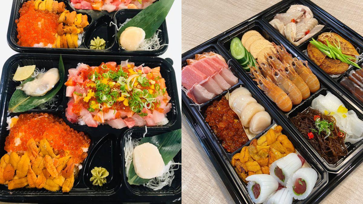 直接放「整隻龍蝦」94狂!屏東東港日料推「海味防疫便當」,再塞生蠔、生魚片