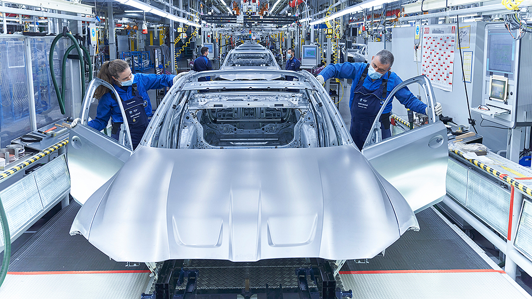 BMW受到晶片短缺影響而減產。(圖片來源/ BMW) 1萬輛BMW出不了工廠大門都是因為它 一個小東西就癱瘓汽車生產線
