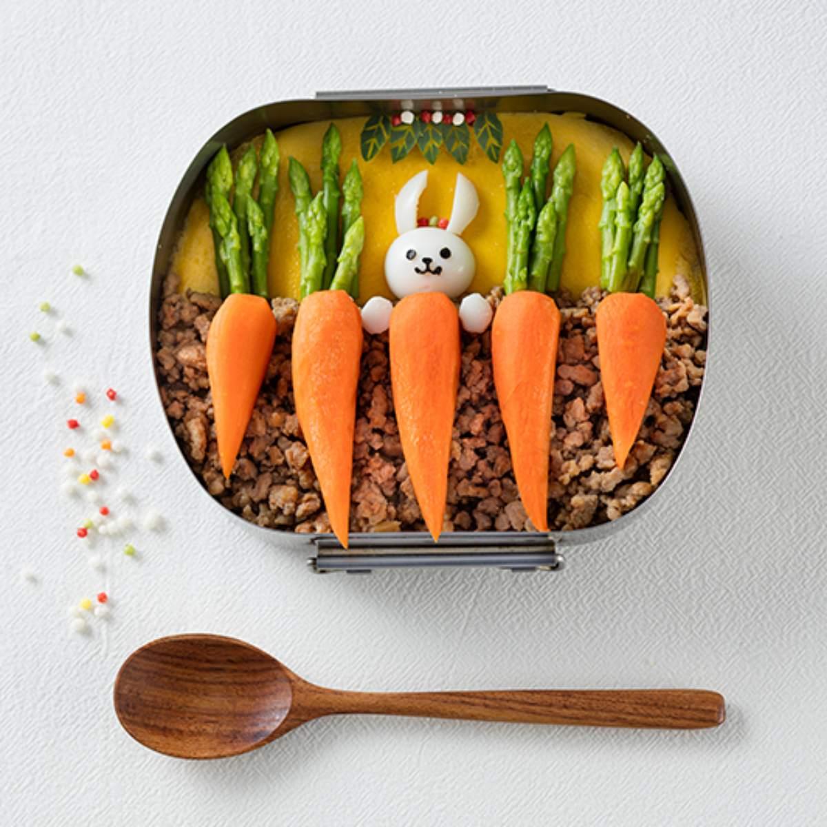 大人小孩都愛!3款「造型便當」5步驟內輕鬆搞定,超萌小動物陪你吃飯