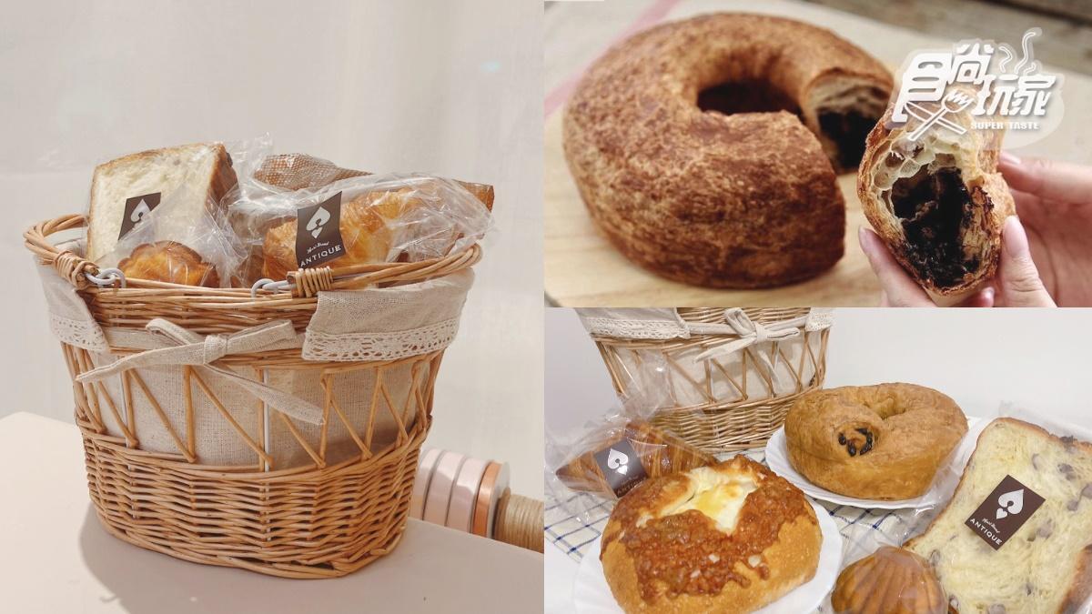 日本名古屋「麵包好箱」獨家宅配!5款大人氣烘培夯品:巨大巧克力圈、卡斯達紅豆磚