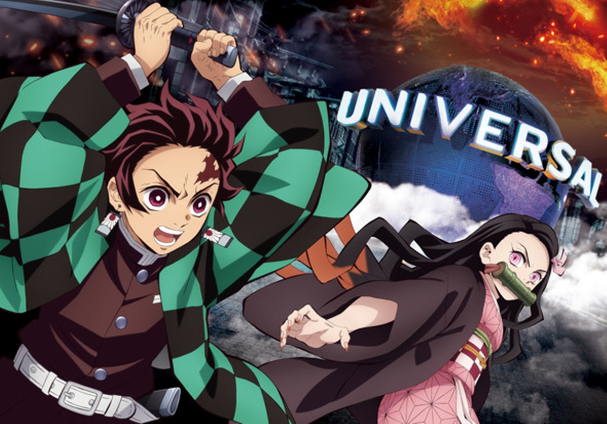 粉絲尖叫!日本環球影城x「鬼滅之刃」超狂企畫9月中登場,神還原戰鬥場景、原創周邊