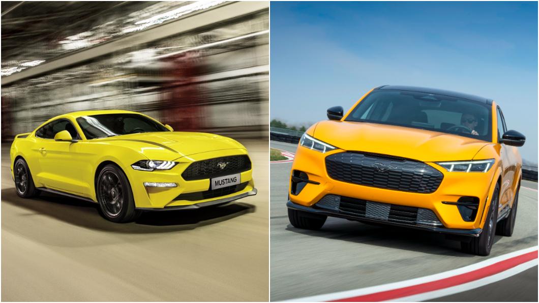 2021年截至5月份為止,Mustang Mach-E生產數量已經超越Mustang跑車。(圖片來源/ Ford) Mustang Mach-E產量超越肌肉車 電動跨界車更受消費者歡迎?