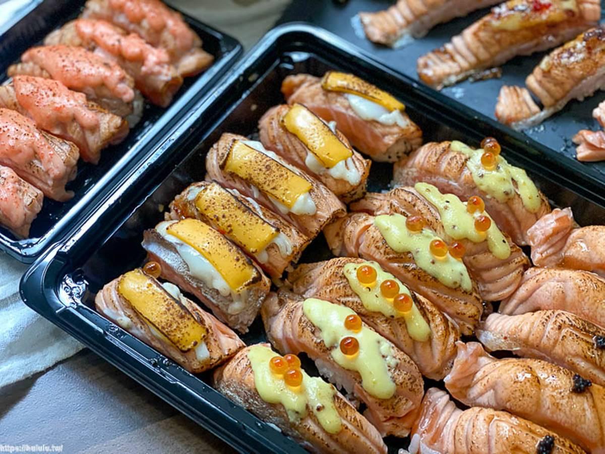 海鮮控快收!中南部4家澎派系外帶壽司:30貫炙燒鮭魚、美式「加州卷」、澎湖直送漁貨