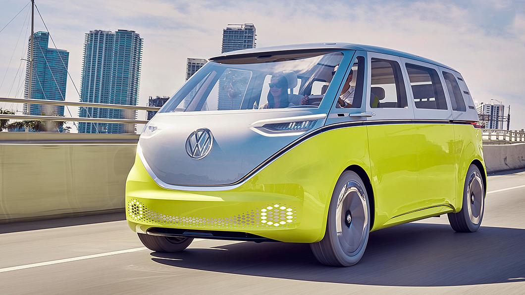 福斯商旅現正積極進行ID.Buzz相關開發與測試工程。(圖片來源/ VWCV) T7 Multivan剛發表超Q電動小巴接著上 ID.Buzz確定明年發表
