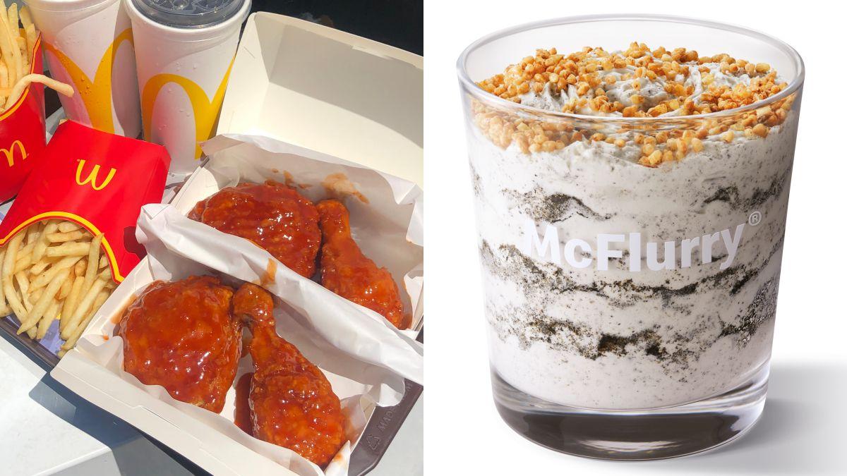 炸雞控吃起來!麥當勞「韓風炸雞腿」回歸,同步開賣新「蕎麥芝麻冰炫風」