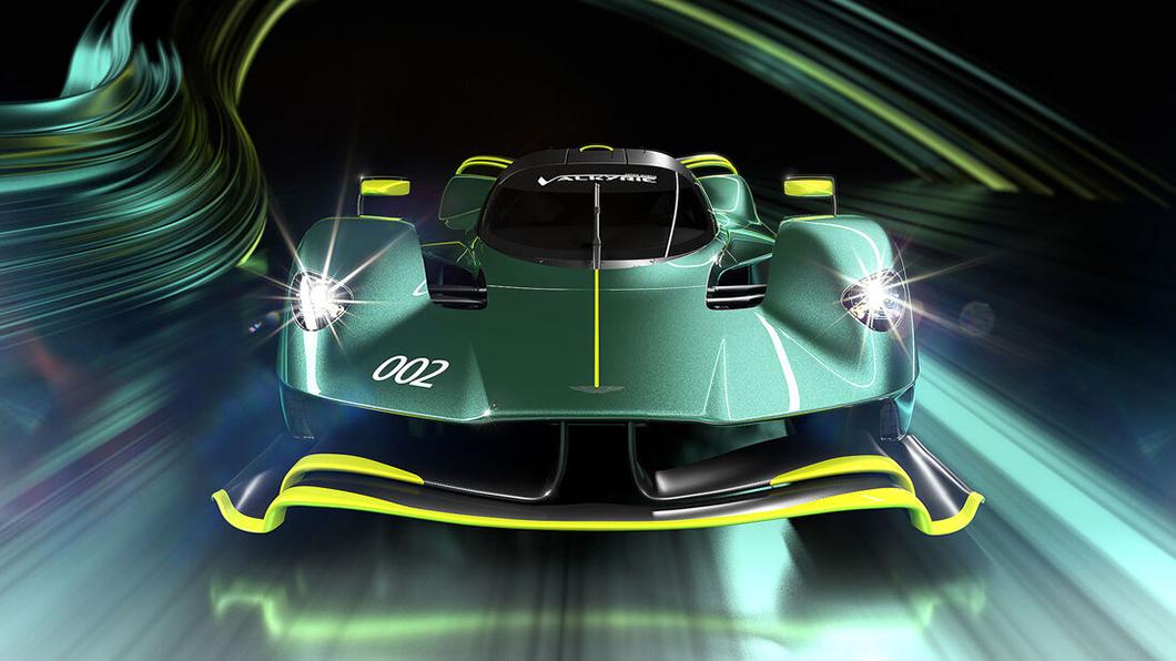 賽道專屬的Valkyrie AMR Pro不受道路或法規相關限制,超狂千匹馬力可拼F1賽車。(圖片來源/ Aston Martin) 賽道版女武神Valkyrie AMR Pro限量40部! 狂暴實力可比F1賽車