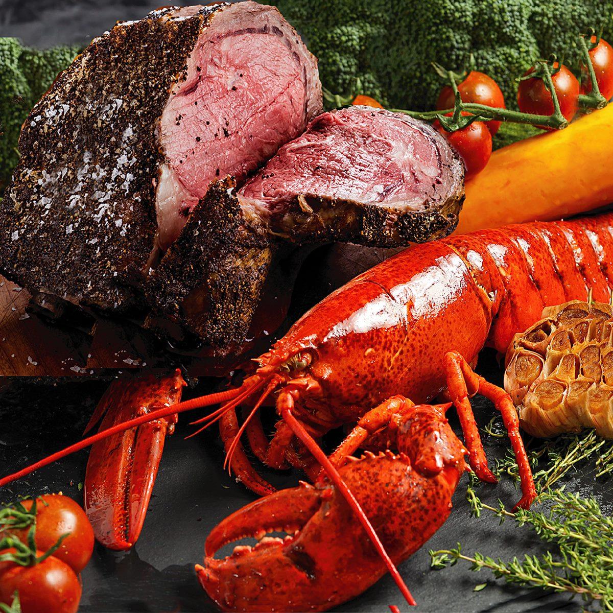 3大龍蝦控必吃好康!48小時快閃「買牛排送龍蝦」,只要198元就能外帶龍蝦餐回家