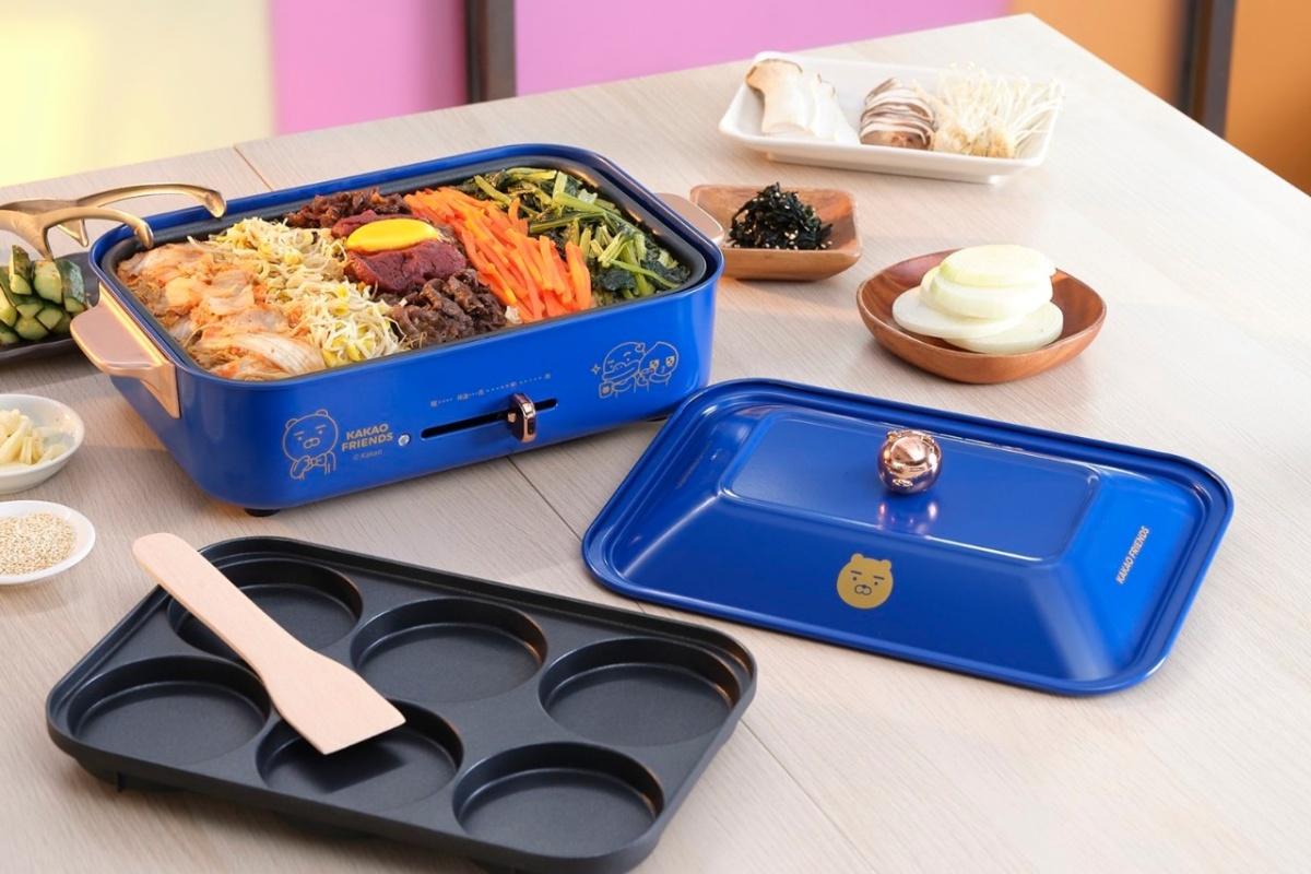 居家必備「萊恩電烤盤」!全聯KAKAO FRIENDS加價購開跑,公仔夜燈、風扇可愛必收