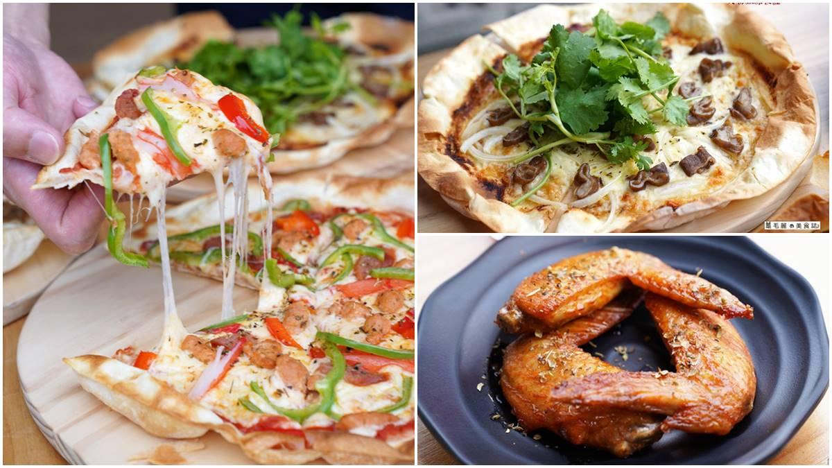超有哏高CP值披薩!限量「大腸麵線」口味撒大把香菜,自取冷凍披薩加碼多送2個