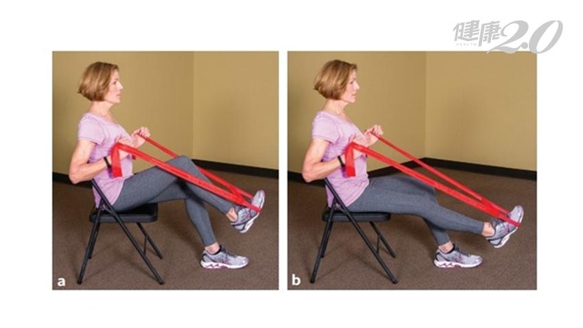 居家防疫當心肌力流失!這樣做長者練深蹲不傷膝蓋 運動學博士2招居家運動預防失能、肌少症