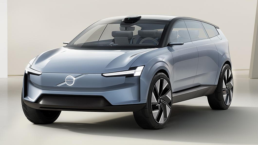 Volvo透過Recharge概念車展現新世代設計風格。(圖片來源/ Volvo) 新世代XC90可能長這樣? Recharge概念車展現Volvo新世代設計風格