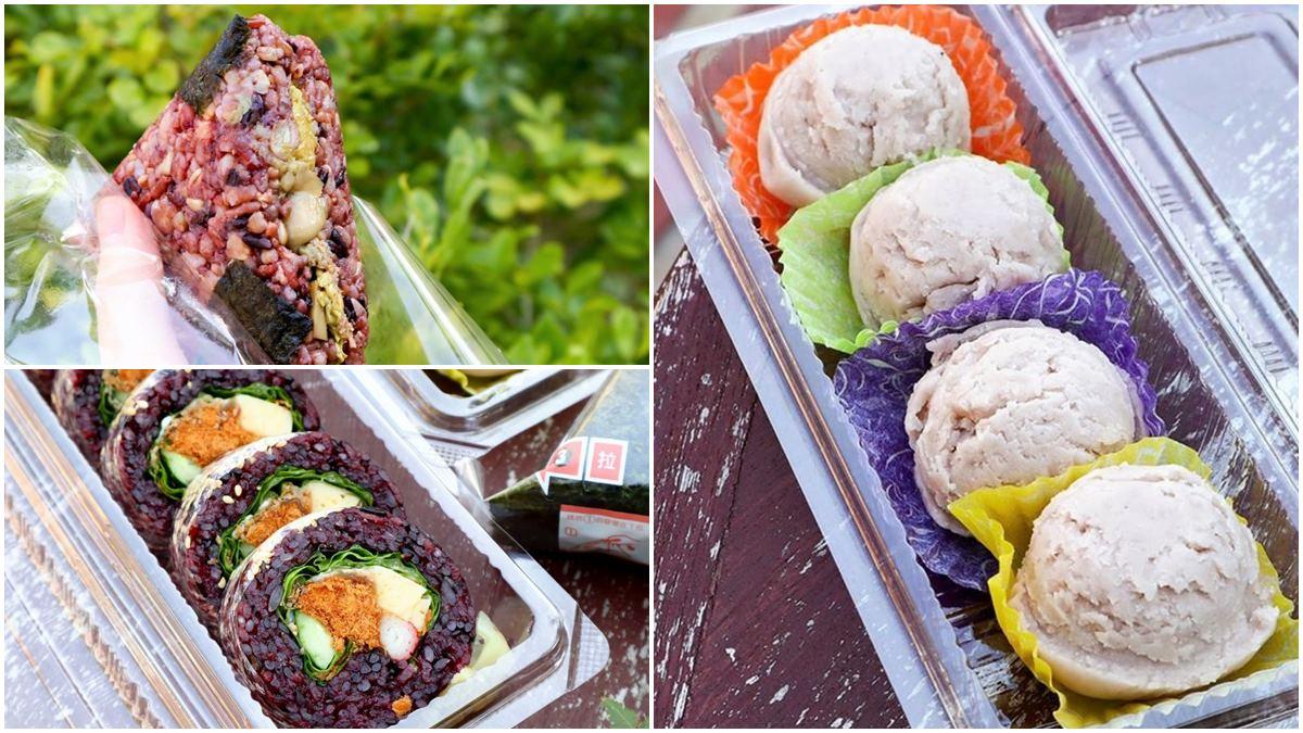 呼叫芋頭控!20年手作壽司店必吃隱藏版「芋泥球」,招牌「紫米花捲」6種配料超豐富