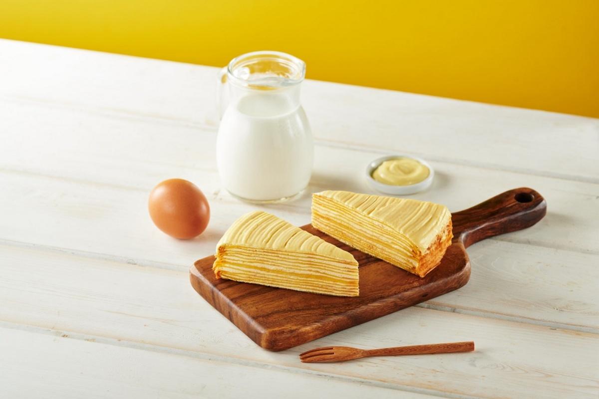 香草泡芙免費送!全聯推5款「爆餡卡士達」甜點,「卡士達千層、瑞士捲」必吃