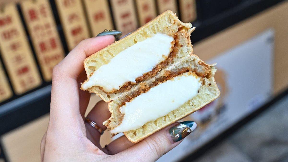 爆餡啦!北中南6家浮誇系車輪餅:牽絲「彩虹芝士」、自製珍奶內餡、消暑「冰心」