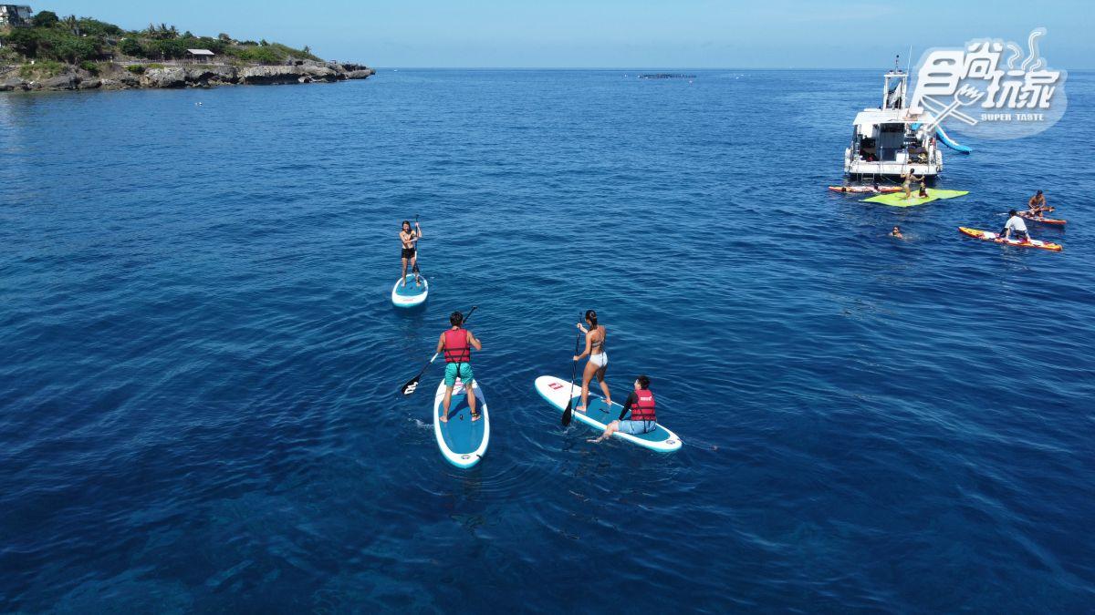 小琉球2天1夜奢華之旅!6大私房玩法:包船玩海上樂園、獨家風帆獨木舟、整尾龍蝦麵