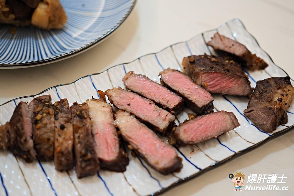 在家爽嗑牛排!團購名店推「超值肉品組」,3種煎法安格斯肋眼、頂級松阪豬噴香