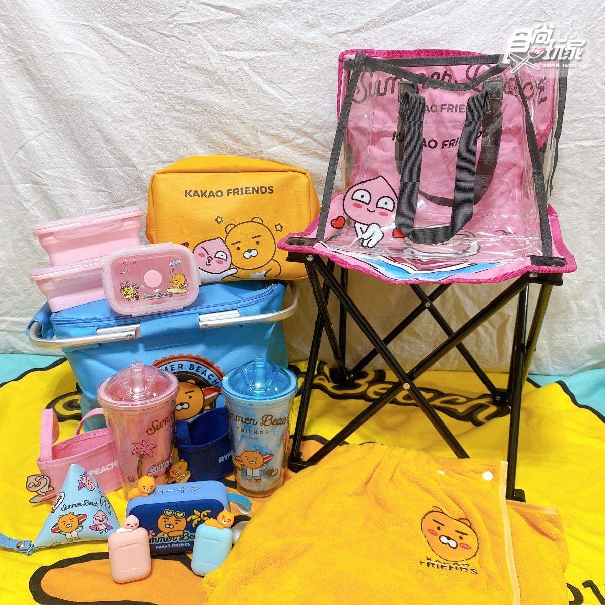 萊恩化身「藍芽耳機、喇叭」!康是美Kakao Friends加價購開跑,「摺疊椅、水杯」必收