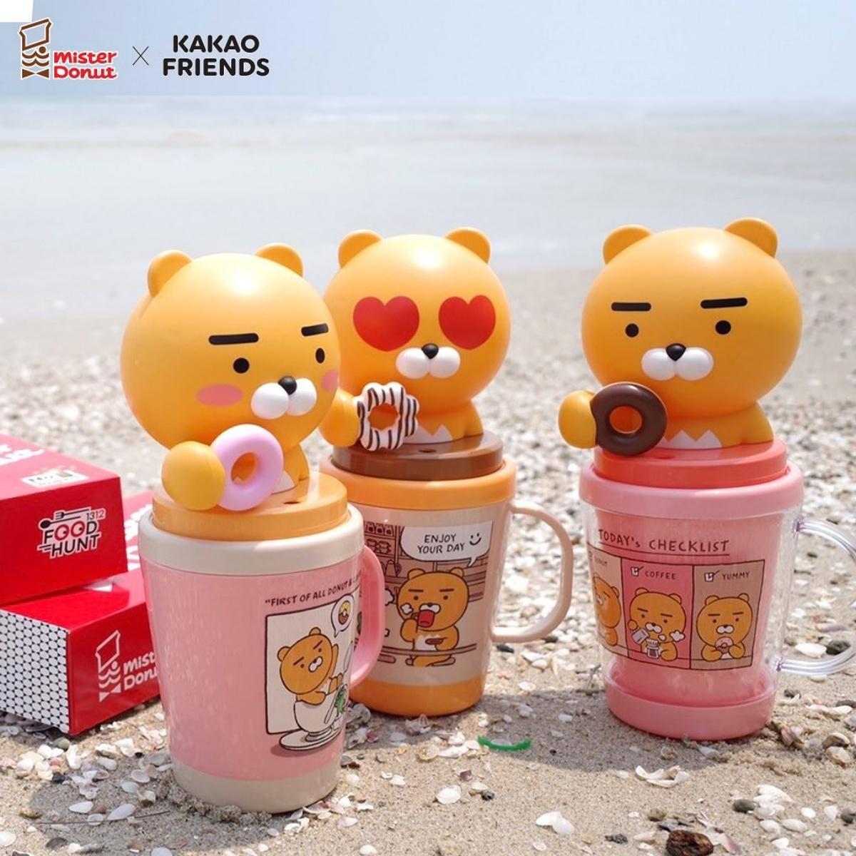 喝水也被療癒!泰國「蠟筆小新、萊恩公仔水壺」手拿甜甜圈太Q,「迪士尼水壺」必收