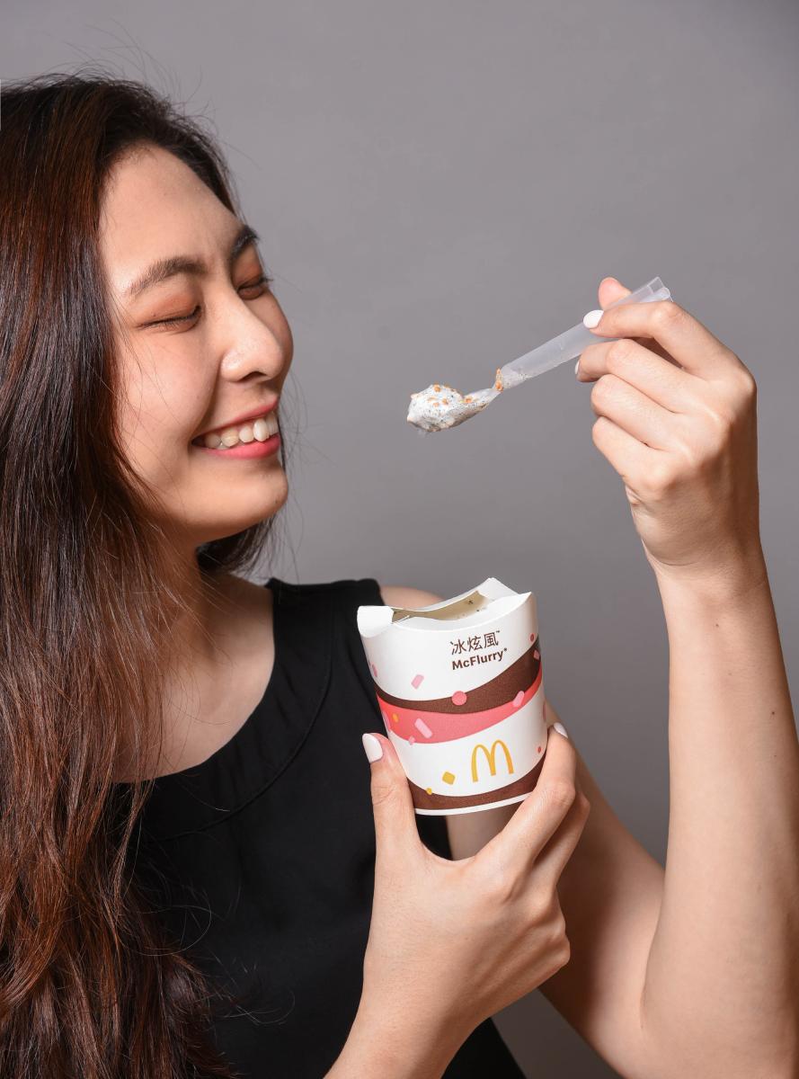 麥粉暴動!麥當勞推全新「蕎麥芝麻冰炫風」,酥脆蕎麥搭濃郁芝麻香口感太銷魂