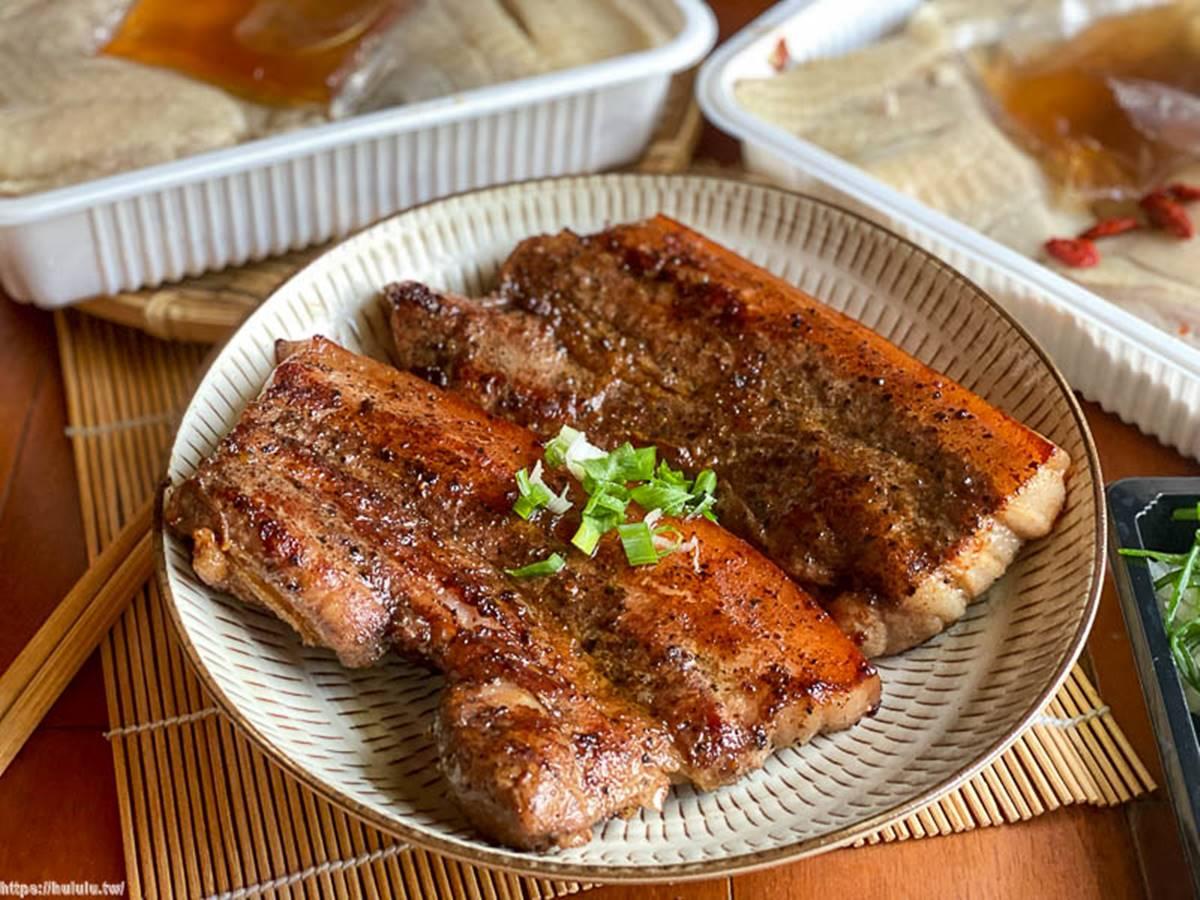 零廚藝輕鬆上桌!團購美食「香蔥油雞」Q嫩超厚實,醃製入味「鹹豬肉」重口味會愛