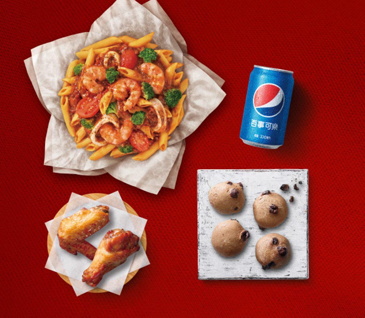 現賺75元!必勝客「四爽餐」一次吃到整個披薩、烤雞和甜點,還能把「防疫隔板」帶走