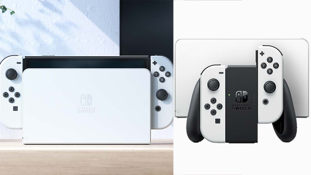 任天堂推全新「Switch OLED」!白色主機質感爆棚、7吋螢幕+轉軸式支架超實用