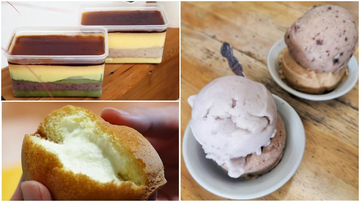 宅配回家解饞!宜蘭6家人氣伴手禮:5層餡布丁盒、爆餡蛋糕泡芙、古早味手作芋冰