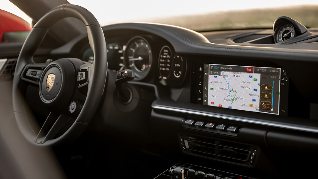 第六代保時捷通訊管理系統 (PCM)將在今年夏季正式搭載於911、Cayenne及Panamera車系。(圖片來源/ Porsche) 終於加入Android Auto! 保時捷第六代PCM今夏登場
