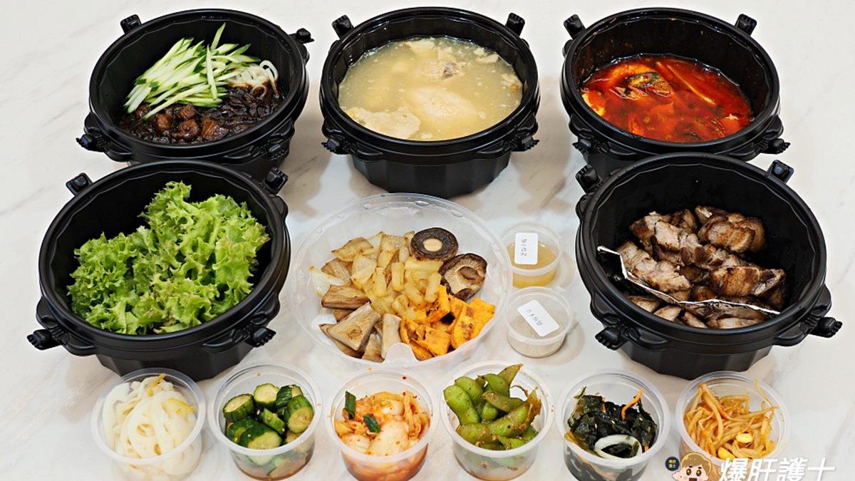 1秒飛韓國!道地韓料推「雙人套餐」爽嗑烤五花+松阪豬,再搭6樣涼拌小菜超開胃