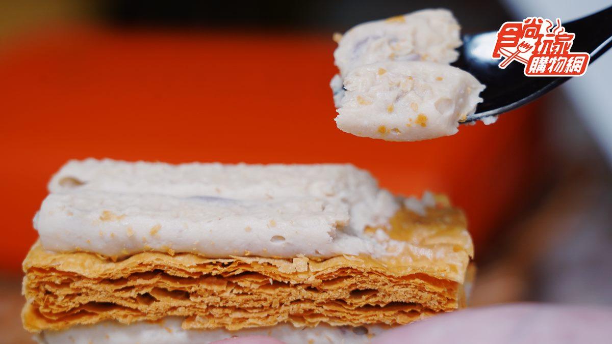 多達144層可吃!超狂夯店「法式夾心千層酥」一次吃到雙層爆餡,每個只要50元出頭
