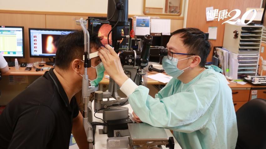 視網膜剝離卻因檢疫中險被「拋棄」 臺中慈濟伸援手救視力,病患捐20萬助人
