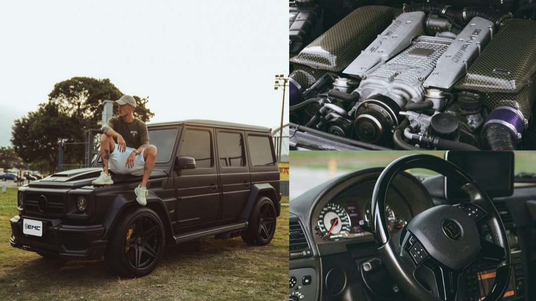 藝人王陽明愛車成癡已經是眾所皆知的事情,他時常在FB、IG分享與愛車的點點滴滴。(圖片來源/ EMC FB粉絲團) 王陽明幫「黑金剛」找新主人 G55 AMG上架5天就成交!