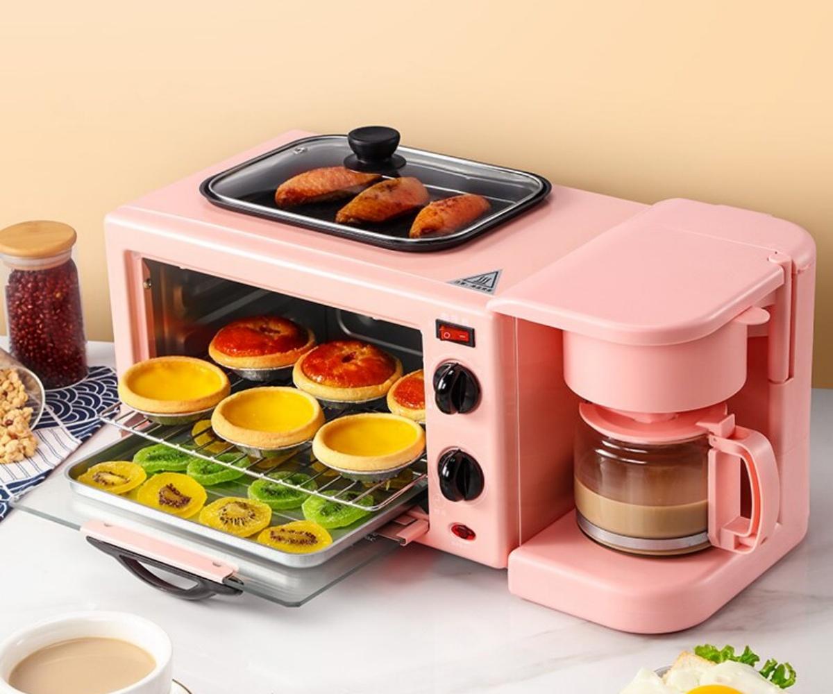 懶人福音!4款質感爆棚「多功能早餐機」,烤吐司、煎蛋、煮咖啡一次搞定