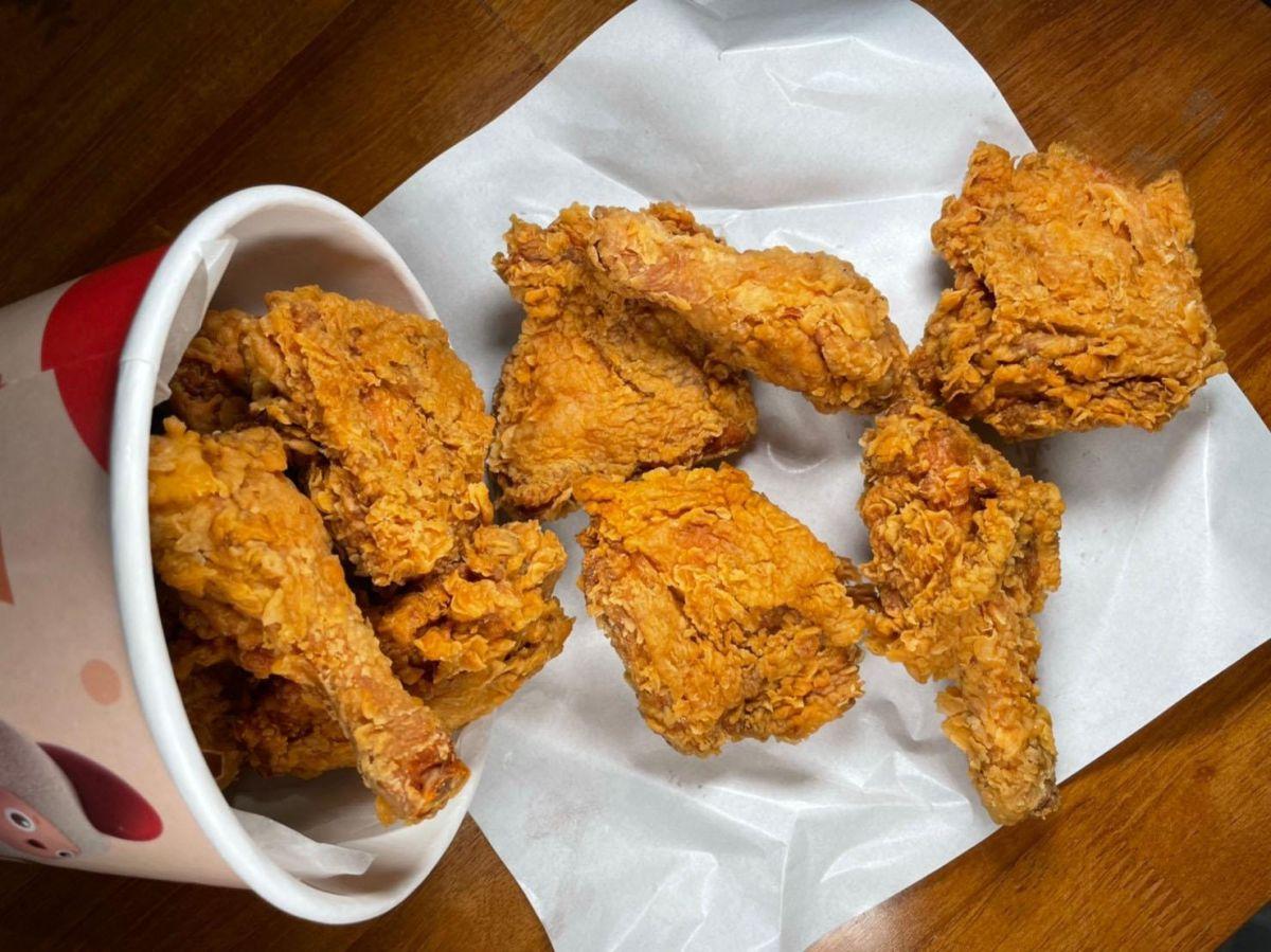 都是雞腿+腿排不用挑!繼光香香雞首度推「美式炸雞桶」,還能加「通庵咖哩粉包」