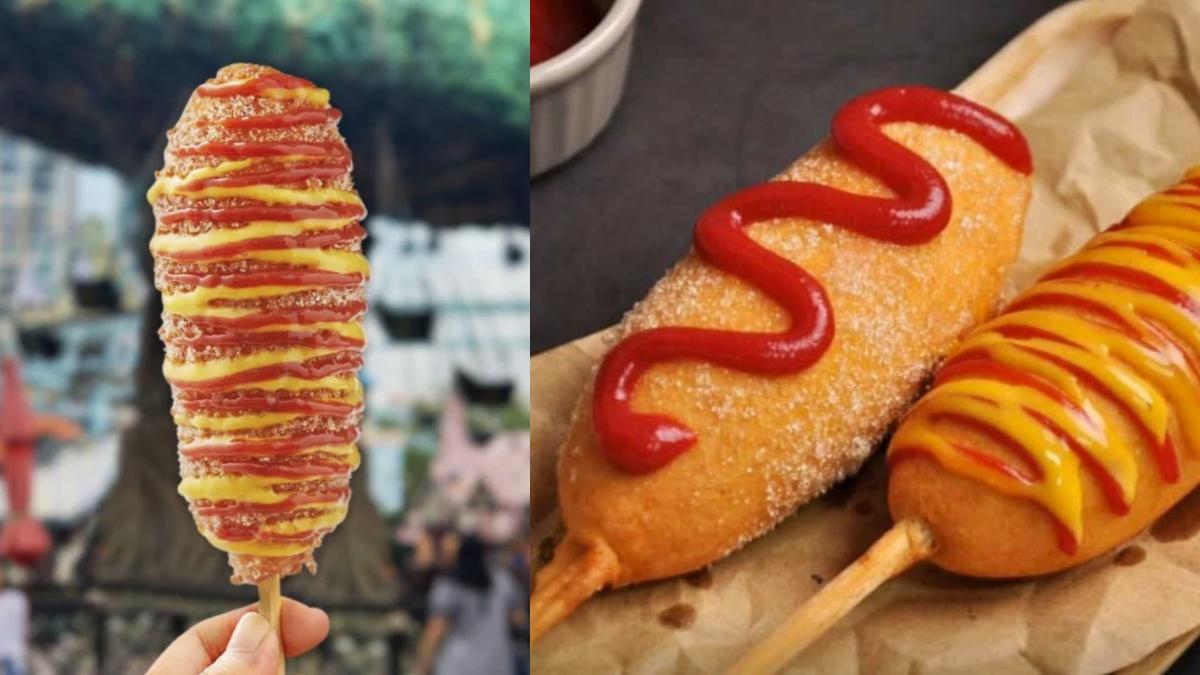 牽絲起司太邪惡!好市多「韓式起司熱狗」1支50元有找,淋上蜂蜜芥末、番茄醬超對味