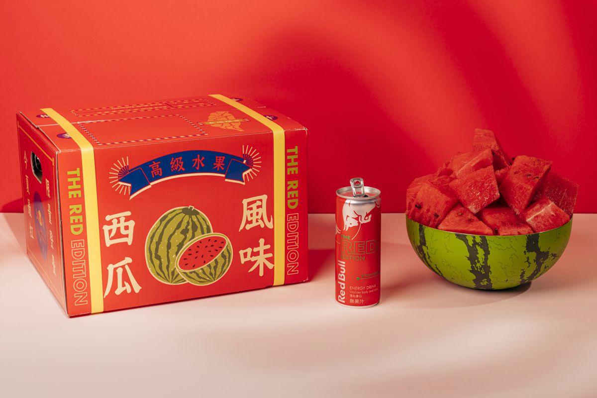 愈台愈愛!紅牛新夏日限定「Red Bull西瓜風味」,加碼抽在地水果箱、西瓜大碗公
