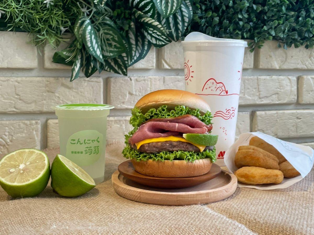 摩斯漢堡「大薯買一送一」先收好!同步推買指定套餐送「檸檬蒟蒻」,早餐2套100元