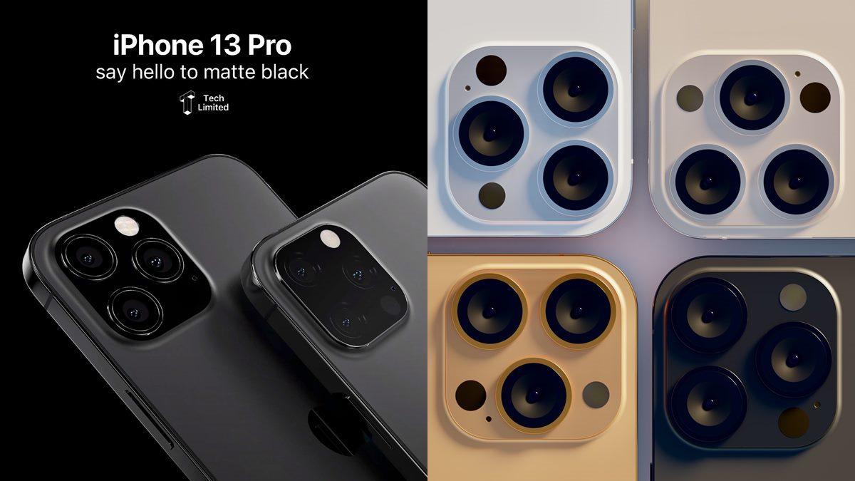 果粉又要尖叫!iPhone 13將出現「精品級純黑」配色,全螢幕手機還有得等