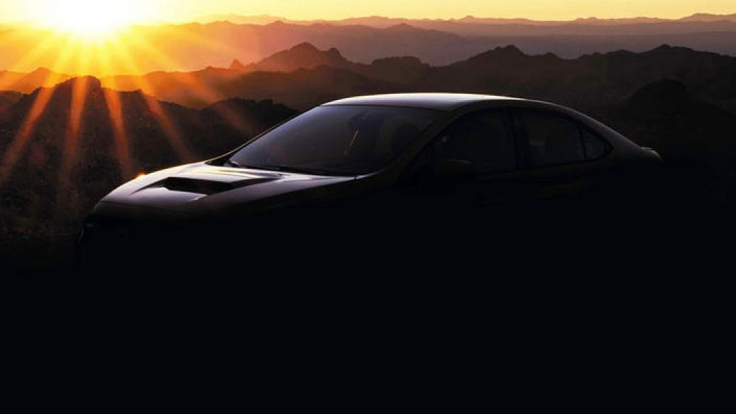 先前原廠已經釋出了預告圖片,代表WRX離真正發表的時間已經不遠。(圖片來源/ Subaru) 速霸陸新WRX將擁有300匹動力? STI性能車型提升至345匹水準!
