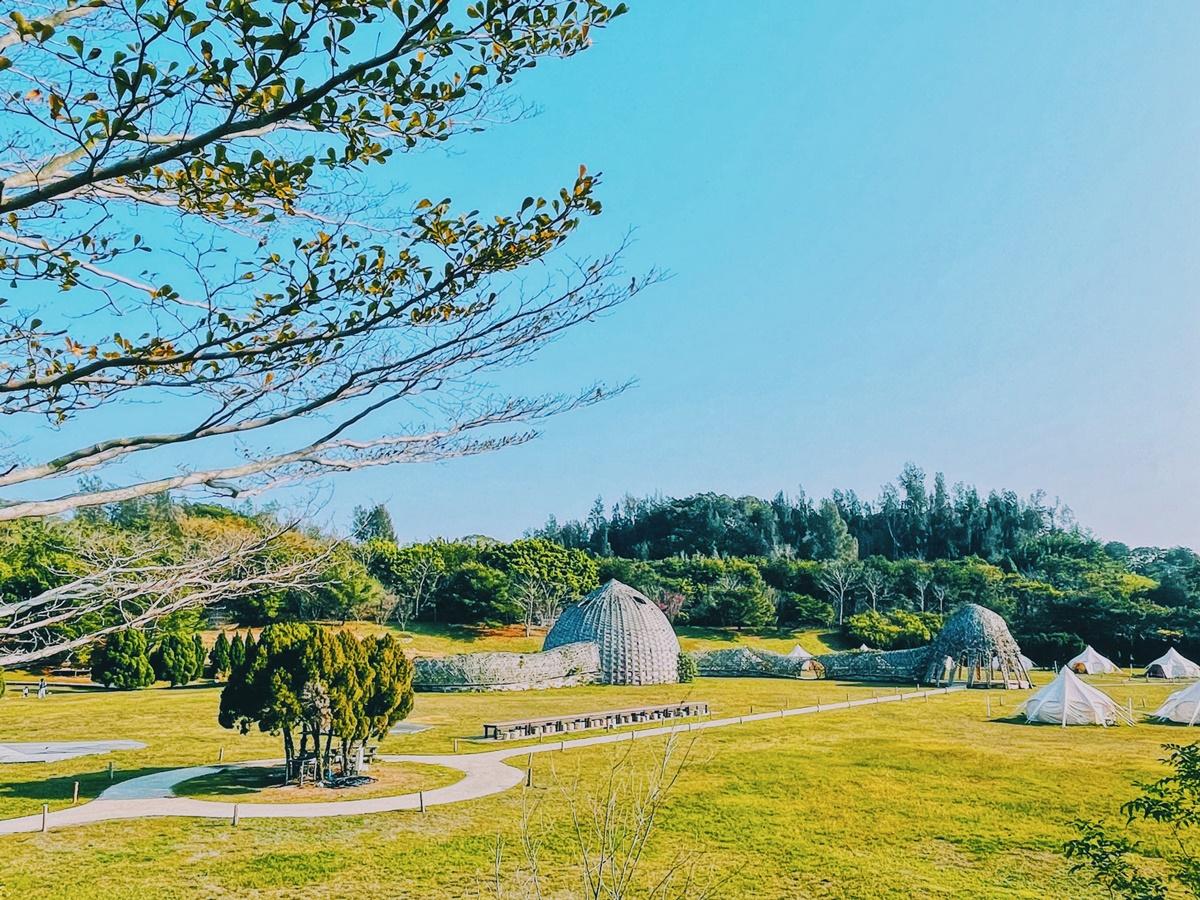 「和平島公園」微解封送券+推超狂包島!「勤美學」開放20頂帳篷,半日遊1人出走