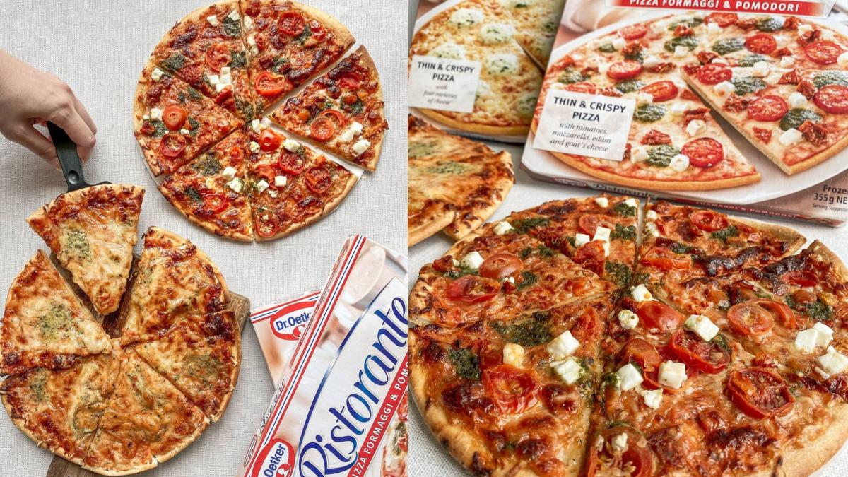 牽絲起司太邪惡!全聯2款「9吋大披薩」只要139元,「4種起司、青醬番茄」超欠吃