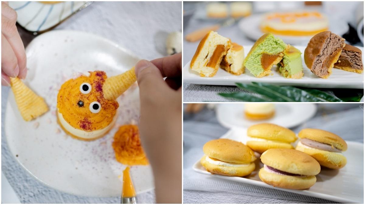 還能創意DIY!高CP值乳酪蛋糕夾滿滿「紅心地瓜泥」,芋頭控必嘗爆餡「北海道生乳燒」