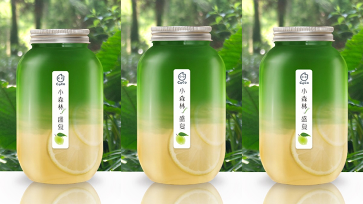 CoCo酪梨系列報到!搭布丁牛奶、百香果昔都絕配,加碼超Q「小森林」限量瓶滿額85折