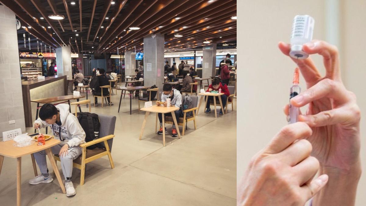 7/26「緩坡式降級」方向不變!擬開放餐廳內用+3原則,188萬劑AZ+莫德納檢驗完成