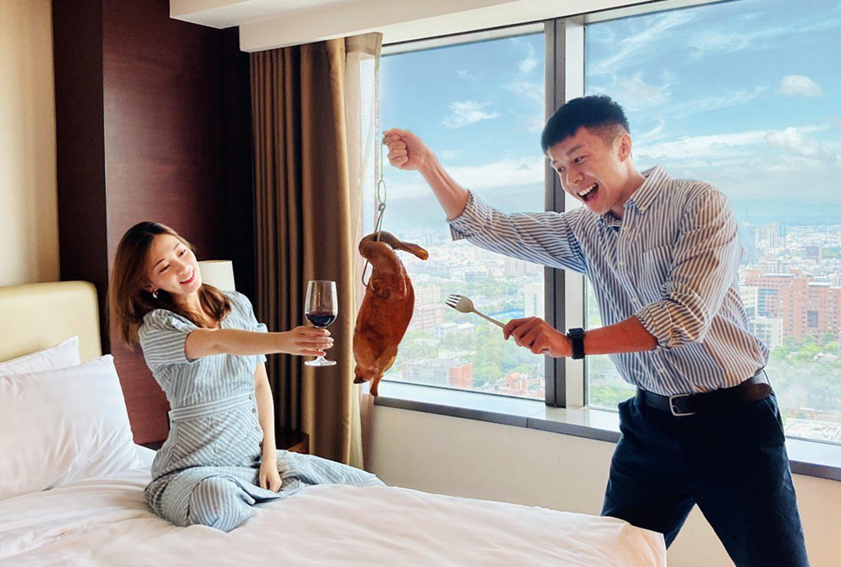 買外帶送住房!全台8家飯店爽吃爽住好康,每人每晚不到500元、烤鴨和龍蝦送進房
