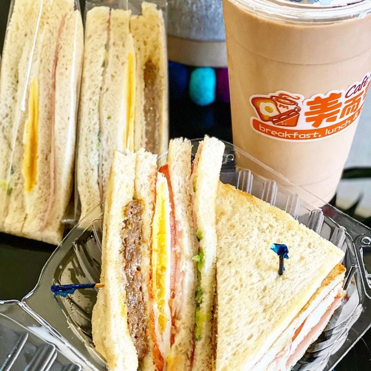 正統「大冰奶」來了!台灣「美而美」早餐進軍加州,「鐵板麵、烤三明治」通通吃得到