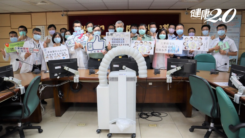 愛在疫起時/Line群組串起愛!兩大校友團體神動員 10天募45台強力清淨機守醫護保台灣