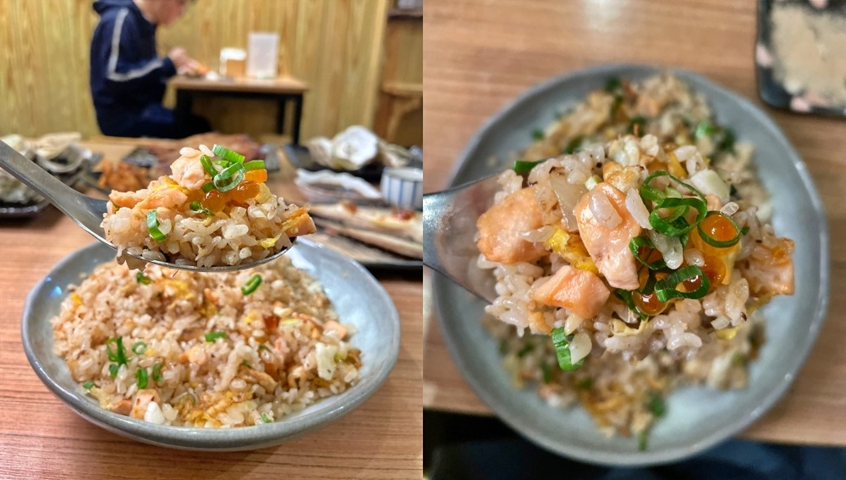 隱藏版日料!高CP值「生魚片拼盤」只要260元,「大分量炒飯」吃得到厚實鮭魚塊